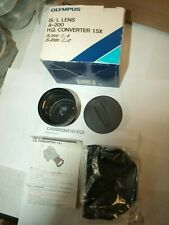 Olympus IS/L Lens A-200 H.Q. NEW TELE Converter 1.5X LENS 49mm SCREW in SIZE