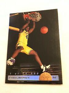 1993-94 Classic Draft Picks Basketball RC GOLD FOIL SP #1 of 74,500 Chris Webber