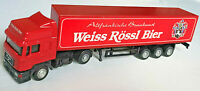 MERCEDES VOLVO MAN ARTIC HGV WAGON TRUCK & TRAILER LKW DIECAST 1:87 SCALE MODEL