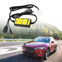 Auto Audio MP3 USB Interfaccia Aux Adattatore Per Mazda 3 323 6 CX-7 RX-8 MPV