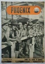 PHOENIX S EAST ASIA EDITION VOL 2-NO 5 JUNE 23 1945 PHOTOS ILLS CARTOONS RANGOON