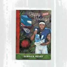 Derrick Henry #07/10 SSP Happy Holidays Santa Hat-RC 2016 Panini Black Friday #3