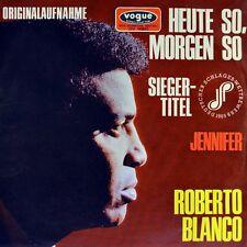 """7"""" ROBERTO BLANCO Heute so, morgen so VOGUE Deutscher Schlagerwettbewerb 1969"""