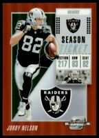 2018 Panini Contenders Optic Red #26 Jordy Nelson /199
