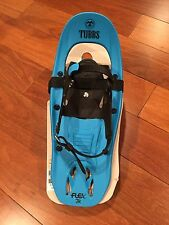"New Tubbs Flex Junior Snowshoes 17"" Blue"