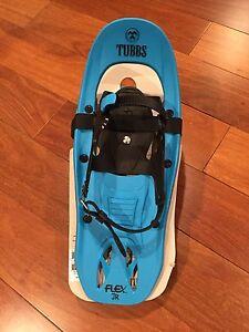 "New Tubbs Flex Junior Snowshoes 17"" Blue"