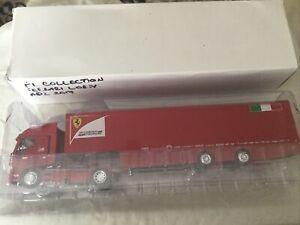 Panini F1 Collection Iveco Ferrari Formula 1 Team Transporter