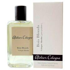ATELIER Cologne BOIS BLONDS Cologne Absolue Pure Perfume Mens Scent 3.3oz NIB