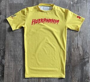 Hulk Hogan Hulkamania Under Armour Compression T-shirt Sz Medium WWE
