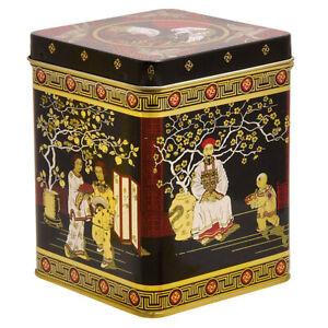 Tee Dose aus Metall - Teedose - Vorratsdose - Japan - für ca. 250 - 300 gr. Tee