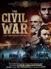 The Civil War: 150th Anniversary Edition (DVD, 2015, 2-Disc Set, Includes Book a
