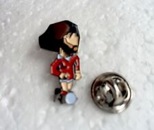 Man Utd #7 Legend George Best 'El Beatle' Pin Badge A Guy Called Minty Rosso Etc