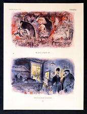 Clubability 1958 Ronald Searle Punch Cartoon