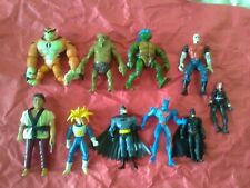 10 piece NICE Action Figure and Toy mixed Lot figures LOOK ! ! BOYS LOT