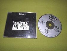 """Smith & Mighty - Anyone... RARE 4xTracks 1990 UK """"Three Stripe Records"""" CD DUB"""