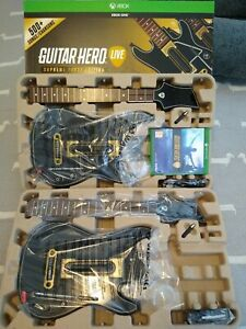 Guitar Hero Live Supreme Party Edition Boxed - Xbox One - very light use only