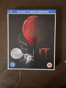 It 2017 Brand New Region Free Blu Ray with Slipcover Stephen King