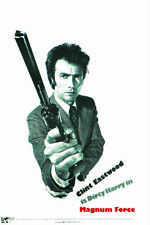Magnum Force Clint Eastwood vintage movie poster print #2