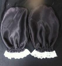 couleur au choix déguisement adulte bébé enfant satin gants sissy soubrette