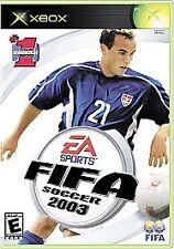 FIFA Soccer 2003 (Microsoft Xbox, 2002)