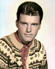 """RICKY NELSON HOLLYWOOD ACTOR SINGER SONGWRITER 8x10"""" HAND COLOR TINTED PHOTO"""
