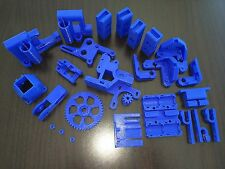 Reprap Prusa Mendel i3 Rework Printed Parts KIT DEEP BLUE 3D Printer
