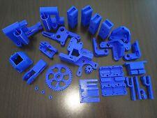 Reprap Prusa Mendel i3 Rework Printed Parts KIT DEEP BLUE 3D Printer