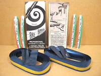 New-Old-Stock Ambrosio Padded Bar Tape (Blue)...Two Packages