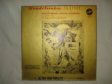 MENDELSSOHN ELIJAH - Elias 3 LP BOX SET (LP RECORD)
