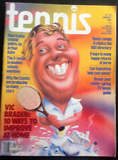 'Tennis' US Tennis Magazine - January 1981 - Excellent Vintage Condition.