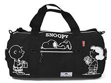 Boston bag nylon Snoopy 2way (BLACK) japan