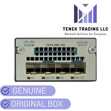 NEW Cisco C3KX-NM-10G Catalyst 3560-X, 3750-X Series Network Module