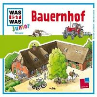 WAS IST WAS JUNIOR - FOLGE 04: BAUERNHOF  CD  11 TRACKS KINDERHÖRSPIEL  NEU