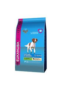 Eukanuba Dog Food Mature with Senior Lamb and Rice, 12 Kg