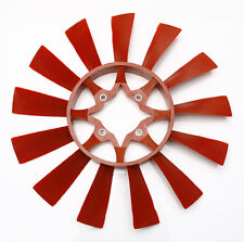Brand New Red Reproduction Fan Blade for Triumph TR6 1972-1974 w 13 Blade Fan