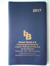 Taschenkalender 2017 von: bB / blauer Bund e.V. - NEU