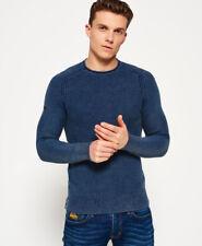 Superdry mens  Garment Dyed LA Textured Crew Jumper  SIZE M  RRP £ 44.99