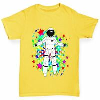 Twisted Envy Boy's Space Jam Astronaut Funny T-Shirt