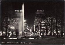 AD5808 Torino - Piazza Carlo Felice - Insegne pubblicitarie Unica e Venchi