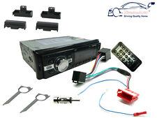 AUDI a4 94-99 unità di testa stereo auto Radio, Bluetooth porta USB mp3 SD, Kit Fascia
