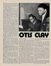 Otis Clay Interview/Article