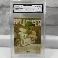 2020 Topps Fire Power and Pride Gold Minted Cody Bellinger #PP11 GMA Gem Mint 10