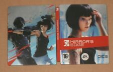 Mirrors Edge 1 Steelbook + Bonus DVD NO GAME G2 Spain Spanish Rare Mirror's