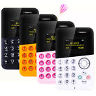 Card Mobile Phone 4.5mm Ultra Thin Pocket Mini Phone M5 Alarm Clock Cellphone