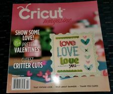 Cricut Magazine February 2012 Pretty Valentines Cute Critters Vintage New