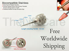 2.5mm Dental Root Extraction Screw Posterior Molars Extracting Flex Periotome 1P
