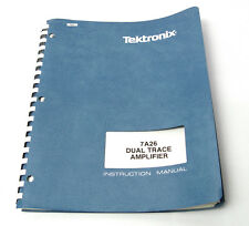 TEKTRONIX Manuel pour 7a26 Amplificateur-indentation, 7000er oscilloscope Série