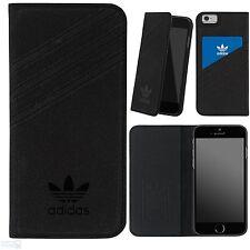 "adidas Apple iPhone 6, 6s 4,7"" Book Case Cover Handy Tasche Schutzhülle schwarz"