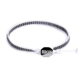 Morchic Hematite Stone Special Handwoven Wrap Bracelet Wax String for Women Girl