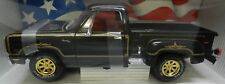 BLACK 1978 78 WARLOCK ADVENTURER DODGE BOYS PICKUP TRUCK MOPAR 1/18 DIECAST ERTL